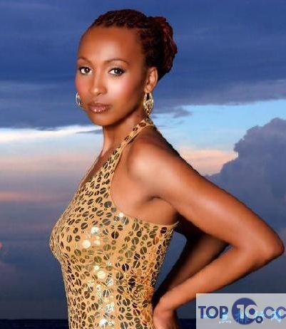 黑人十大美女排行榜