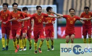 历届中国足球队成员名单